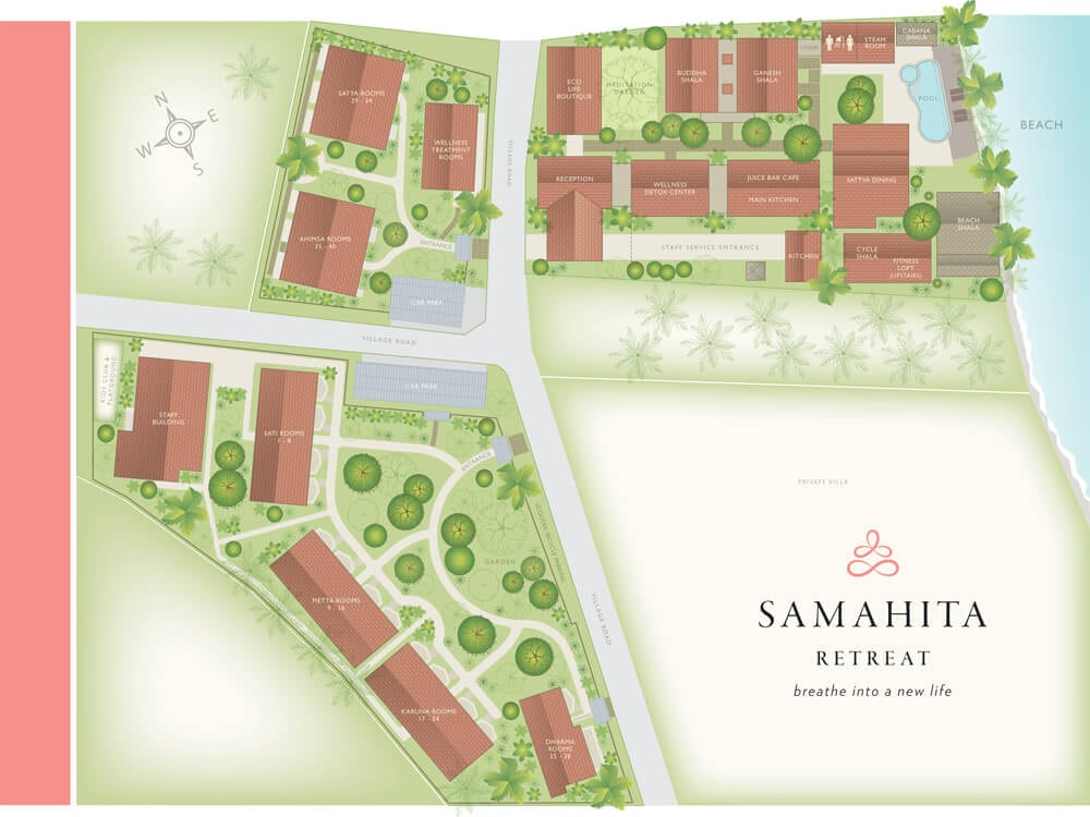 map samahita entire property