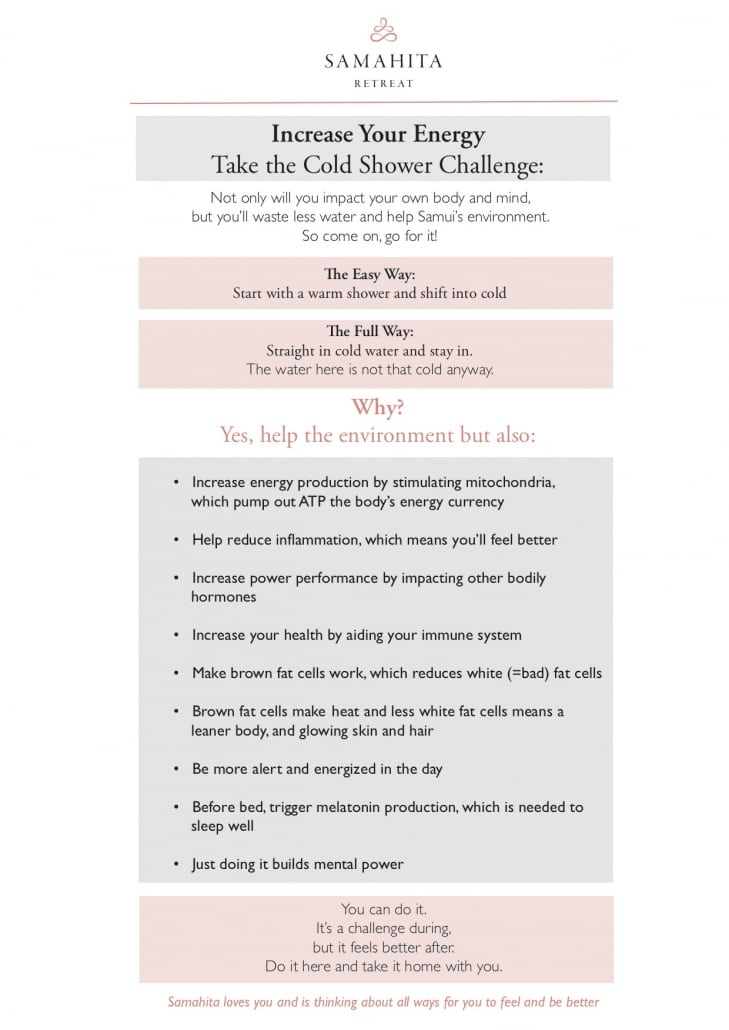Take the Cold Shower Challenge